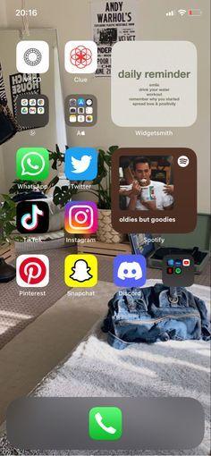 98 ideias de Home screen em 2021   organização celular, dicas para iphone, ideias de organização