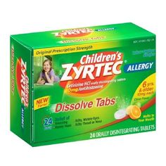 Zyrtec Children Dissolve Tabs Citrus24 ea * You can find more details by visiting the image link.