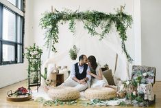 Indoor loft space transformed into the perfect botanical boho picnic for two. Wedding Music, Chic Wedding, Wedding Blog, Wedding Designs, Wedding Styles, Picnic Theme, Elopement Inspiration, Elopement Ideas, Cute Wedding Ideas