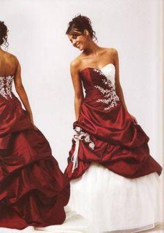 Symbole robe de mariee rouge