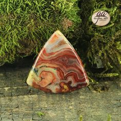 EA03539  Beautiful  Red Crazy Lace  Agate Pendant by Artiststone