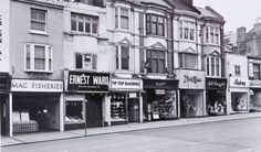 Western Road Brighton in the 1960s.