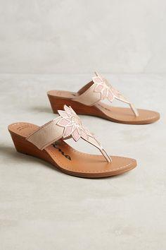 Verbena Wedge Sandals | Anthropologie