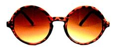 $11.00 Windy City Mid-Size Round Sunglasses - 409 Tortoise #roundsunglasses #vintagesunglasses #designersunglasses
