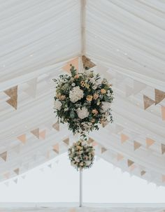 Hanging flowers are perfect for a marquee wedding filling the roof space with colour and a bit of a wow factor! Marquee Hire, Marquee Wedding, Wedding Pins, Wedding Flowers, Wedding Ideas, Devon And Cornwall, Hanging Flowers, Exeter, Decorating On A Budget