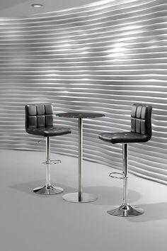 Agency Barstool, Cyclone Bar Table