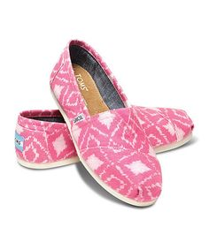 This Pink Geometric Ikat Classics is perfect! #zulilyfinds