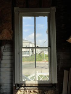 Window in an vacant house. Galveston, Restoration, Victorian, Windows, House, Inspiration, Biblical Inspiration, Home, Homes