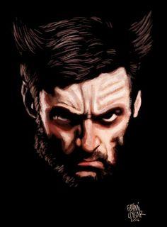 #xmen #wolverine #hughjackman #illustration