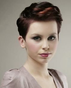 Jen, ...for if you want to start subtle. Cute Short Hair Styles for Women 2014