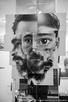 """""""Béné"""" Photosculpture - fotofever 2015 - Brno Del Zou - Galerie Courcelles - Paris"""