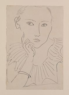 Henri Matisse - Portrait of a Woman with Ruff and Bracelet
