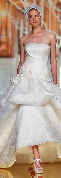 YolanCris Ethereal Evanescence Spring 2014 Bridal Collection
