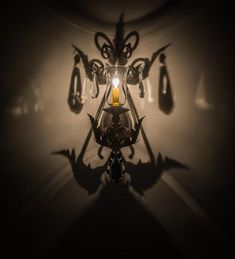 """9""""W French Elegance Victorian Wall Sconce"""