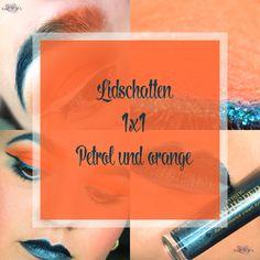 #lidschatten1x1 #orange #petrol #makeup #orangepetrolmakeup #blogger #beauty