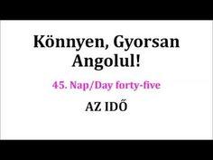 Könnyen, Gyorsan Angolul 1-106. nap - YouTube English Words, English Language, Nap Day, Cards Against Humanity, Youtube, English People, English, Youtubers, Youtube Movies