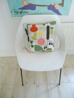 mod plants cushion cover