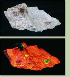 Fluorite et Zincite