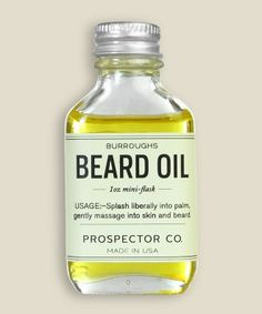 Prospector Co. - Burroughs Beard Oil