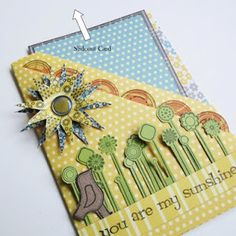 Double pocket card by Virginia Nebel