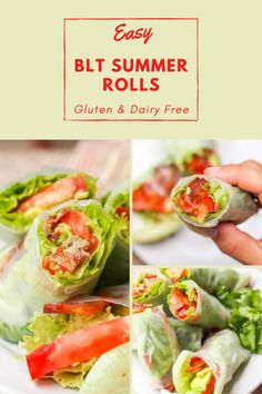 Bite Size Appetizers, Vegan Appetizers, Vegan Snacks, Appetizer Recipes, Healthy Chips, Healthy Food, Healthy Recipes, Bacon And Butter, Summer Rolls