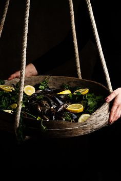 Mussels by Raquel Carmona