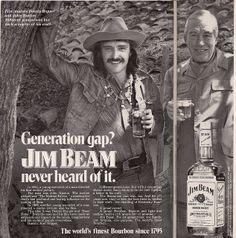 Jim Beam, Dennis Hopper And John Huston by glen.h, via Flickr