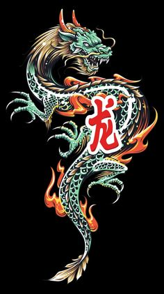 Find Color Asian Dragon Tattoo Illustration Dragon stock images in HD and millions of other royalty-free stock photos, illustrations and vectors in the Shutterstock collection. Thousands of new, high-quality pictures added every day. Dragon Tattoo Vector, Dragon Tattoo Art, Asian Dragon Tattoo, Japanese Dragon Tattoos, Dragon Artwork, Dragon Tattoo Designs, Elefante Tribal, Dragon Wallpaper Iphone, Dragon Tattoo Wallpaper