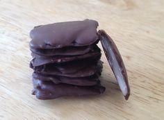 Affriolants (chocolats fourrés à la menthe)