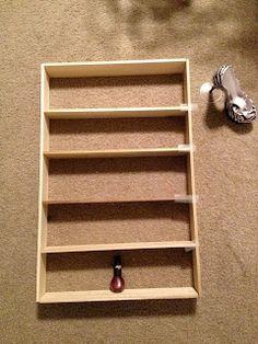 Little bit of everything: DIY nail polish rack