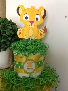 Baby Lion King Theme Centerpiece