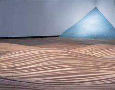 """Maya Lin – """"A Spiritualized Geometry"""" Maya Lin, Vietnam Veterans Memorial, Modern Sculpture, Built Environment, Environmental Art, Art Google, Installation Art, Art History, Night Light"""