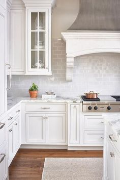 Cool white kitchen design 4  The post  white kitchen design 4…  appeared first on  Nice Home Decor .