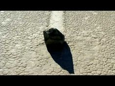 Moving Rocks ~ On the Death Valley's Racetrack Playa, in California state.