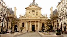 La Sorbonne, histórica Universidad de París, barrio Latino
