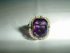 antique edwardian seed pearls ring by qualityvintagejewels on Etsy, $95.00