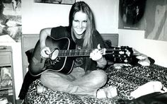 Lita Ford of The Runaways at her parents home in Long Beach in She looks more like Joan Baez than Lita Ford in this rare photograph! Photo by Brad Elterman