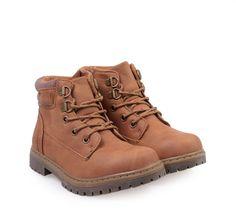 ΠΑΙΔΙΚΑ ΜΠΟΤΑΚΙΑ ΟΡΕΙΒΑΤΙΚΑ ΑΓΟΡΙ SPROX (DK.NATURAL) Hiking Boots, Winter, Kids, Shoes, Fashion, Walking Boots, Children, Moda, Boys