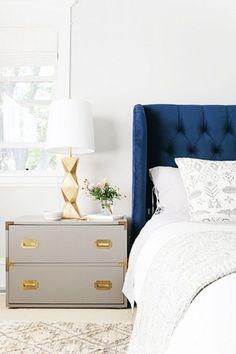 Beautiful vintage reused nightstand design for elegant bedrooms | www.bocadolobo.com #bocadolobo #luxuryfurniture #exclusivedesign #interiodesign #designideas #bedroomdesign #nightstandsideas #bedsidetabledesign #elegantbedroom #nightstanddesign