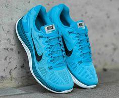 Nike Lunarglide 5: Vivid Blue