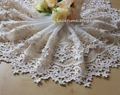 Listing for A by lacetime on Etsy