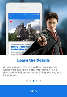 Complete guide to using the new official Universal Orlando mobile app