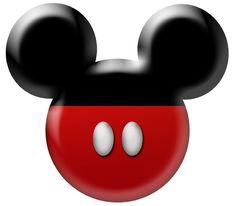Mickey head printable