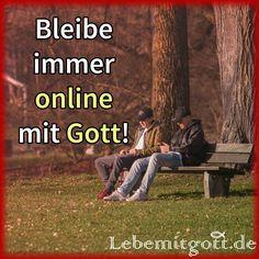 Online mit Gott
