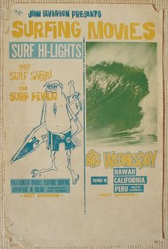Surfers from all over came to these films.  Best venue was Santa Monica Civic Auditorium. Such a blast in the past !