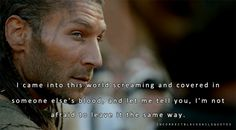 Incorrect Black Sails Quotes---Captain Vane of Black Sails