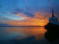 By Christina Alexopoulos. Beautiful sunset, Molos Patra, Greece