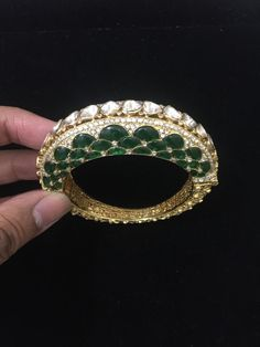 Fulfill a Wedding Tradition with Estate Bridal Jewelry Italian Gold Jewelry, 18k Gold Jewelry, Emerald Jewelry, Jewelery, Lotus Jewelry, Diamond Jewelry, Indian Wedding Jewelry, Bridal Jewelry, Indian Jewelry