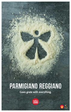 Parmigiano-Reggiano is grate on everything!  : )