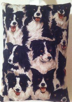 Border Collie Gift / Sheep Dog Lavender Bag / Dog Gift - Handmade in Home, Furniture & DIY, Home Decor, Other Home Decor | eBay